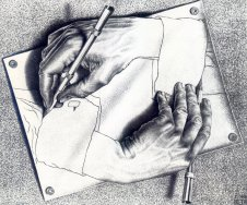 drawing-hands MC EScher