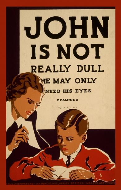 vintage-eye-examination-poster